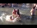 Spring Break water catfight