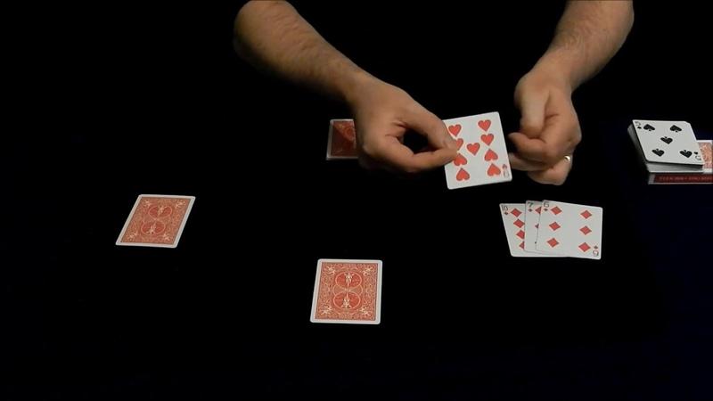 Card Trick Magic Backfire Assembly Kickers