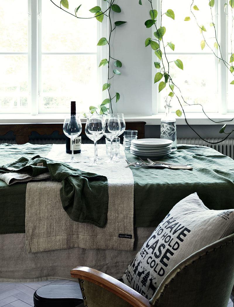 Новая коллекция домашнего текстиля из льна от Lovely Linen