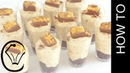 Honeycomb and Chocolate Cheesecake Mousse Dessert Cups by Cupcake Savvy's Kitchen
