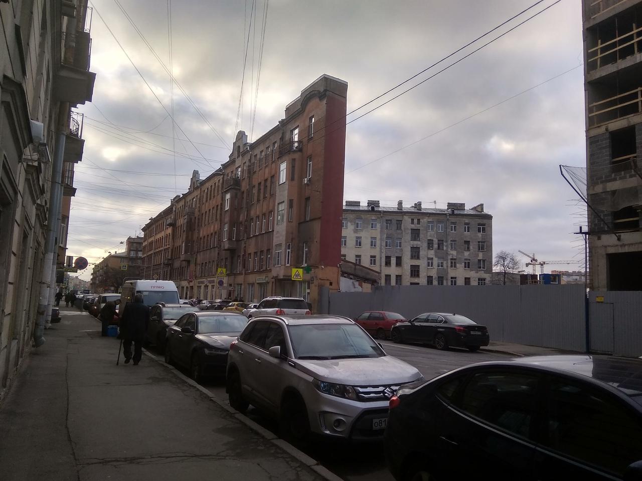 дом стена петербург боровая