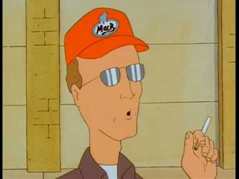 Dale Gribble - Computers dont make errors...