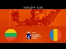 LTU vs ROU - 2019 IIHF WM20IIA - Tallin, Estonia – 16.01.2019