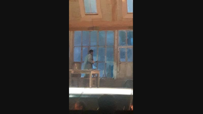 Большой театр в Челябинске Опера Дж Пучини Богема Сцена первая