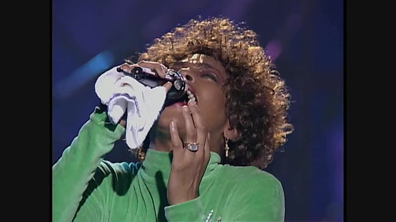 Whitney Houston SOng For You live 1991 Ray Charles Cover