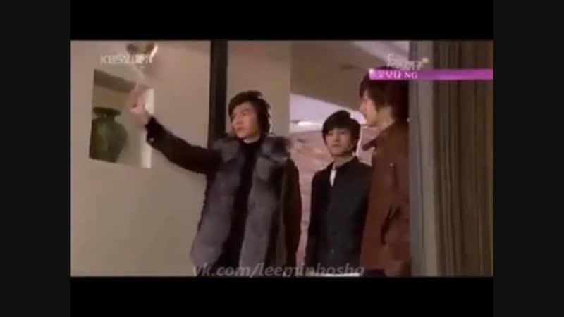 Lee Min Ho 💖 Boys Over Flowers Making 🎬🤣 cr.logo (рус.сабы)