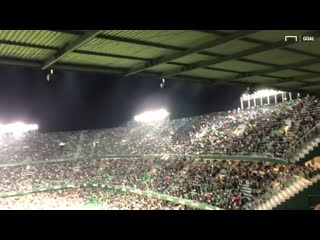 Sometimes, all you can do is applaud - - Real Betis fans showed their appreciation for a M.mp4