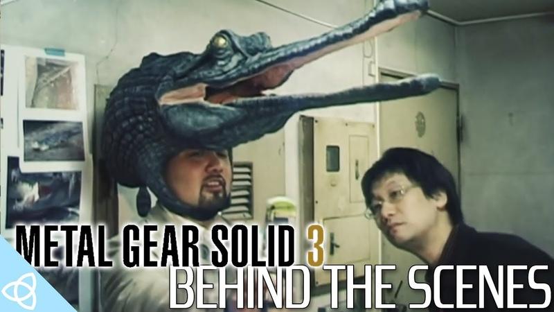 За Кадром игры: Metal Gear Solid 3 - Behind the Scenes and Beta Gameplay [16.10.2018]