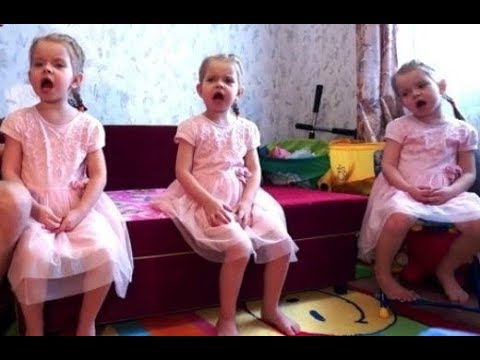 Очаровательные Тройняшки, Песня для папы...