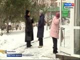 Осторожно, гололед! Как Новосибирск пережил первую по-настоящему зимнюю неделю