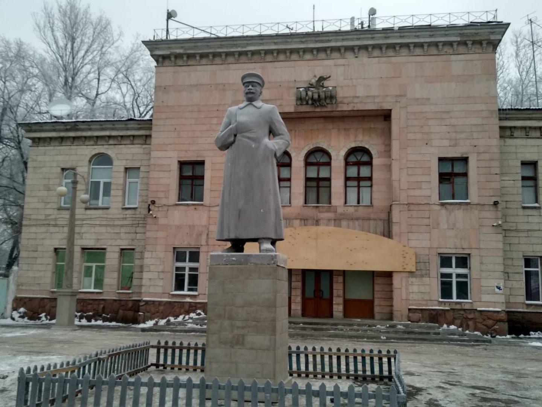 В Алматы появился памятник Сталину _____ ⠀ Жители Алматы зам