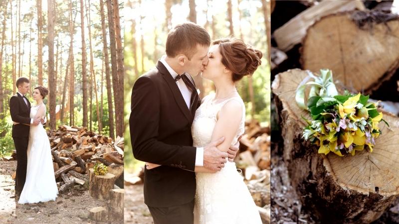 Свадебное фото слайд шоу *Денис и Настя