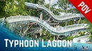 ALL RIDES at Disney's Typhoon Lagoon Water Park, Orlando Florida