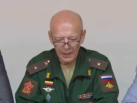 Пресс-конференция по проведению осеннего призыва в армию.
