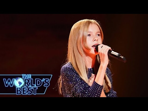 12-Year-Old Daneliya Dazzles with Rise Up - The Worlds Best Audition