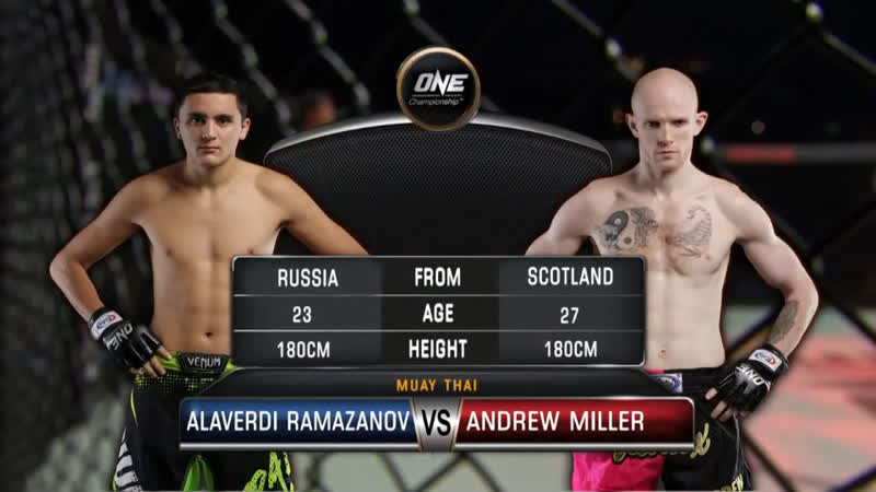 ONE Heart of The Lion   Alaverdi Ramazanov vs. Andrew Miller   MUAY THAI