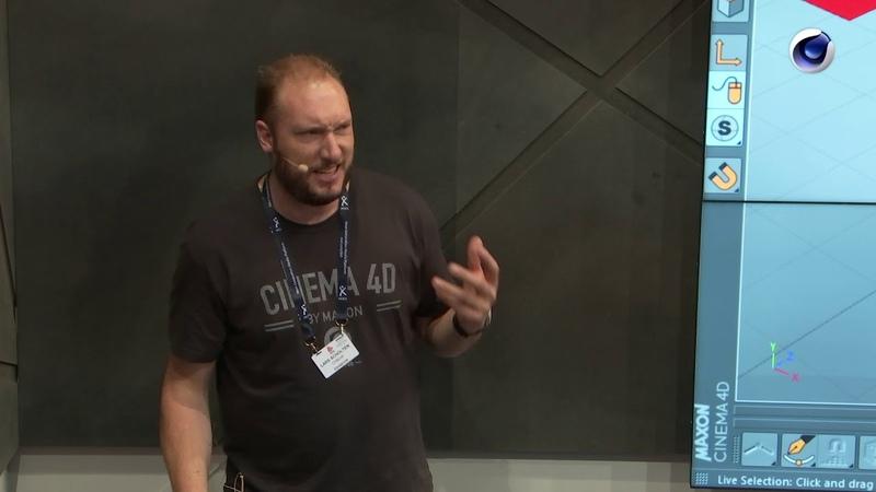 IBC 2018 Rewind Lars Scholten (CyBear) – CG Pipeline around Cinema 4D and Popular Plug-ins