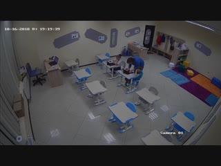 Камеры наблюдения в учебных классах