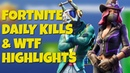Fortnite Battle Royale Daily Kills and WTF Highlights | Season 6 New Cowgirl/Llama Skins!
