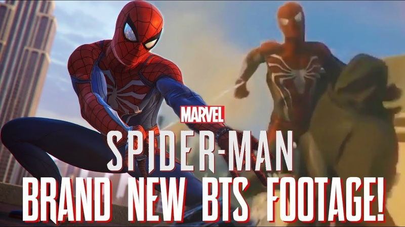 Spider Man PS4 NEW BEHIND THE SCENES FOOTAGE Alpha Gameplay Early Prototypes More