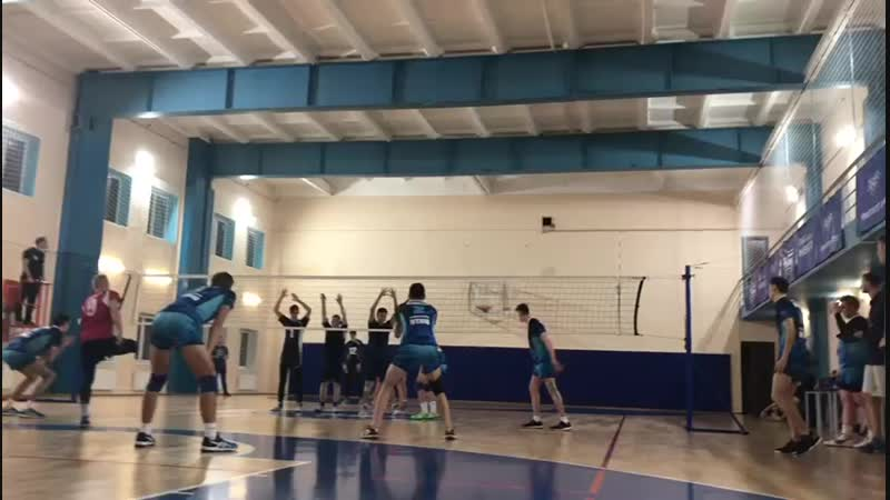 Чемпионат ВУЗов по волейболу. ИТМО-МЧС. Мужчины. 02.11.2018. (1)