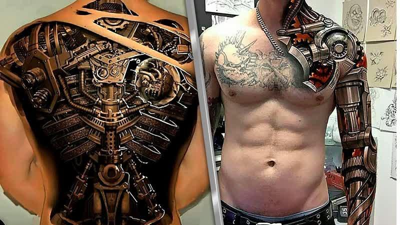 Невероятное 3D! Принтеры, дома, татуировки!