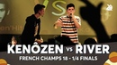KENÔZEN vs RIVER | French Beatbox Championship 2018 | 1/4 Final