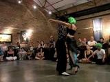 Ozgur El turquito Demir y Cecilia Berra bailando Tango en Loca (Buenos Aires)