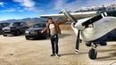 Летим на самолете от ROLLS-ROYCE! Красоты штата Вайоминг с высоты.