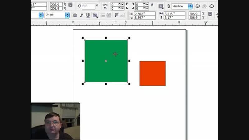 Corel Draw X3 Basics, Positioning