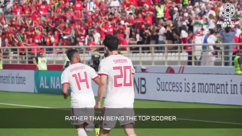 Кубок Азии 2019 Иран Интервью Сердара Азмуна