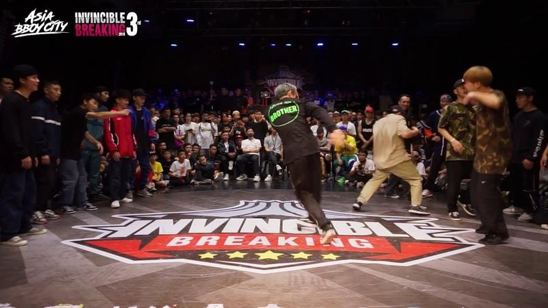 Team Hongkong vs Found Nation Semi Final Crew Battle Invincible Breaking Jam Vol 3