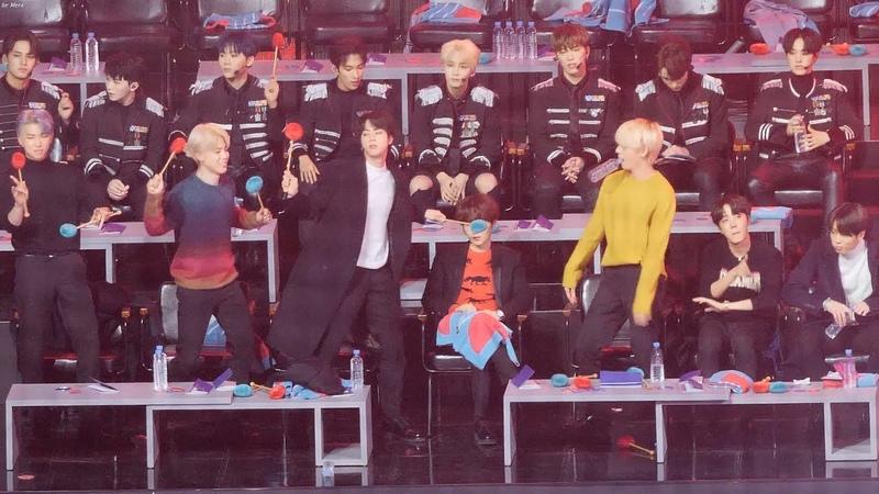 190106 방탄소년단 (BTS) - BIG BANG -BANG BANG BANG Reaction [4K] 직캠 Fancam by Mera