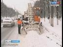 Чебоксарские коммунальщики почти сутки устраняют последствия снегопада