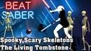 Beat Saber - Spooky Scary Skeletons - The Living Tombstone (custom song) | FC