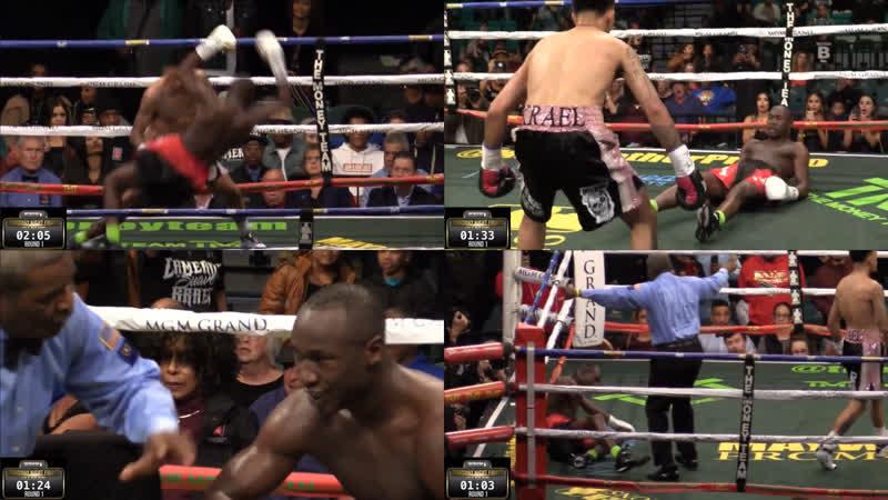 Первый раунд: правило трёх нокдаунов. Thursday Night Fights at MGM Grand.
