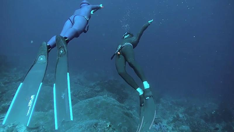 Freediving at Nusa Penida Exploring reefs along North Coast