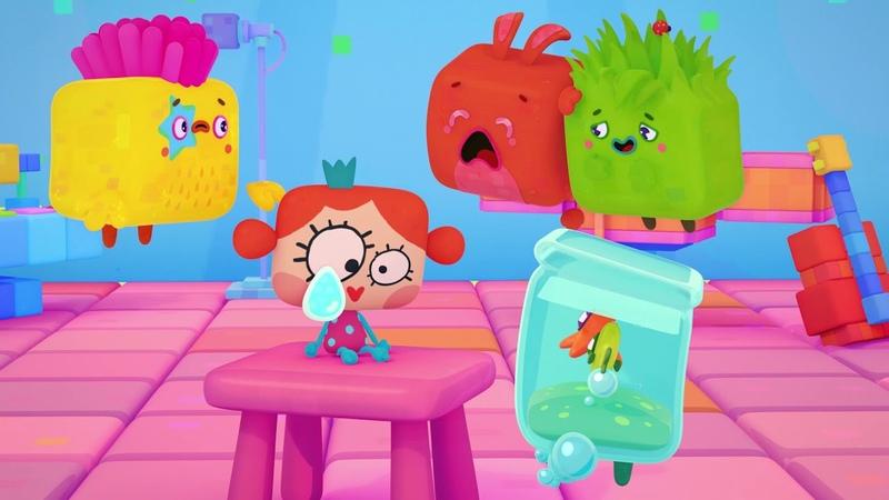 Четверо в кубе развивающий мультфильм для детей все серии сразу сборник серий 11 15