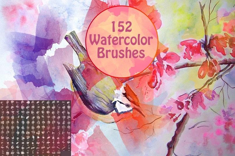 Watercolor Brushes Vol 1.zip