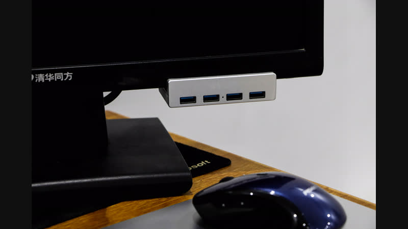 ORICO MH4PU - 4 Ports USB 3.0 Hub with Clip-On Type for Monitor