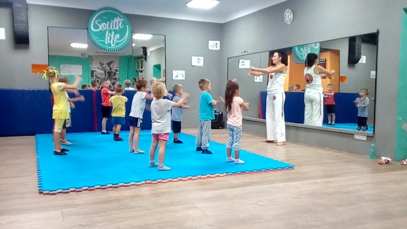 Пробное заняте Capoeira 1