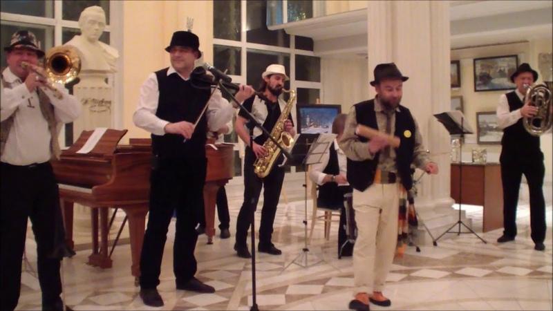 Музыкальное выступление сербского коллектива BALCAN FANFARE ORHESTRA, Москва, 15 января 2019г.