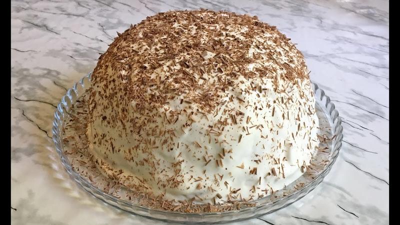 Торт Панчо Без Выпечки, Без Печенья и Желатина, Невероятно Вкусный Десерт / Cake Without Baking