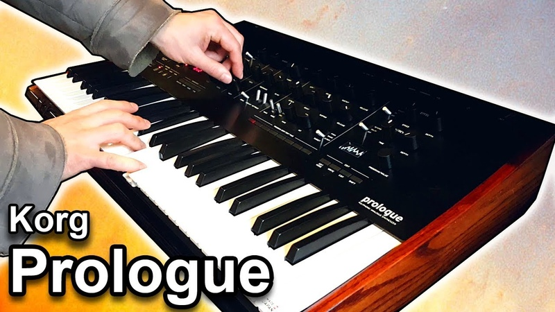 KORG PROLOGUE - Ambient Arpeggiator Soundscape 【SYNTH DEMO】