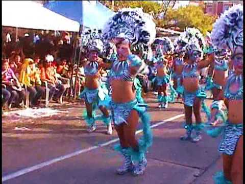 PLUMAS 2 del carnaval de BARRANQUILLA Africa Brasil Deep Forest