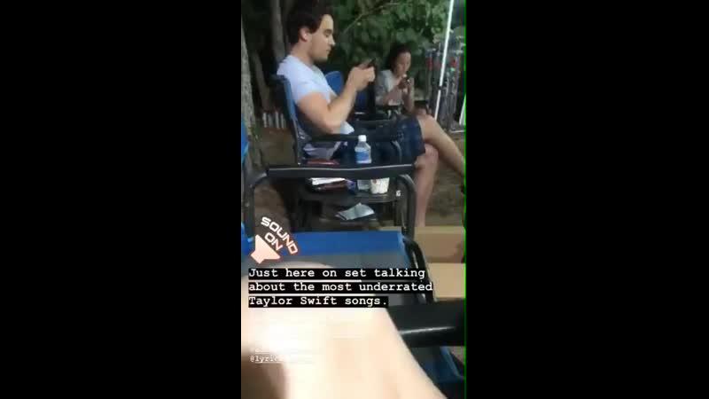 Looks like @arosende is filming something - - Via @Greer_Grammer IG.mp4