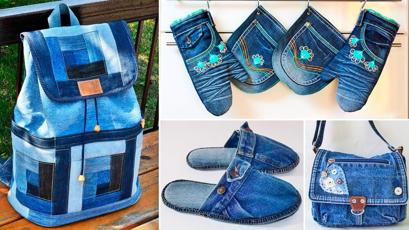 120 ideas that can be made from old jeans