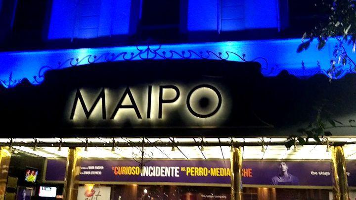 """Pablo Sultani on Instagram: """"Maipo tonight 💖  quelindososmaipo @teatromaipo @elcuriosoincidente_arg"""""""