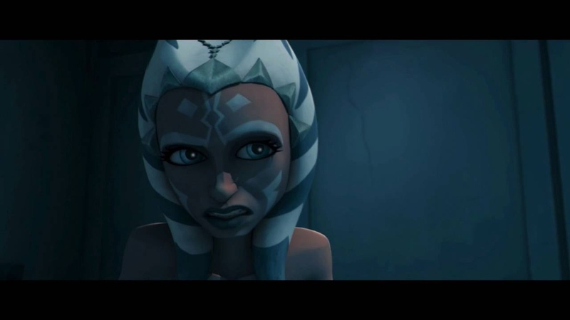 Star Wars The Clone Wars -- Ahsoka Finds The Person Who Stole Her Lightsaber [720p]