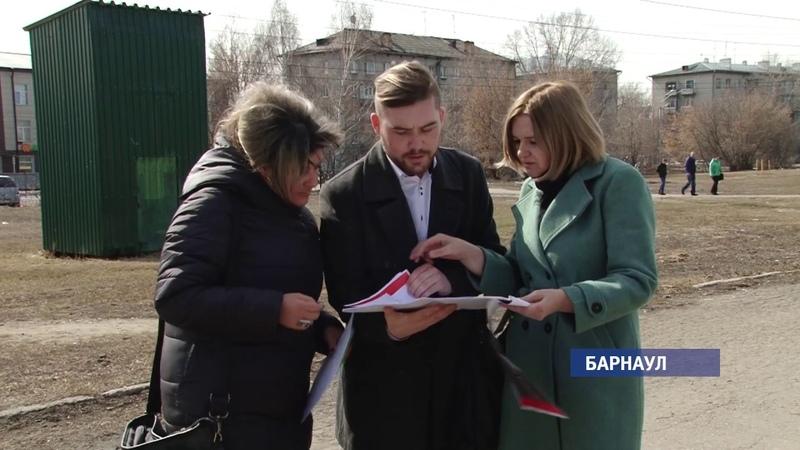 Дело чести Каким будет парк Победы в Барнауле Barnaul22